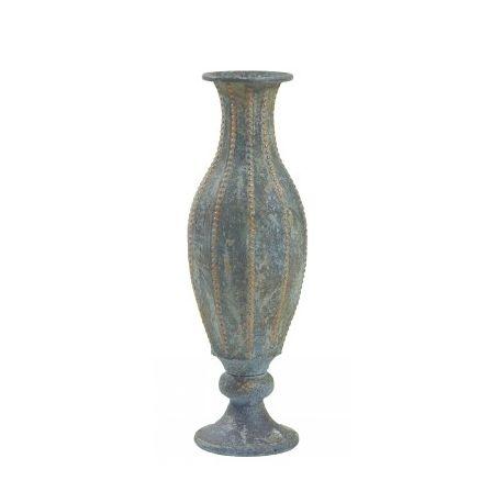 Vente en ligne d 39 objets d co vase gris clair for Objet deco gris