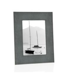 Cadre photo Shagreen gris pm