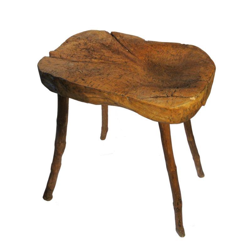 Billot Bois Ancien : Billot ancien en bois – Antiquit?
