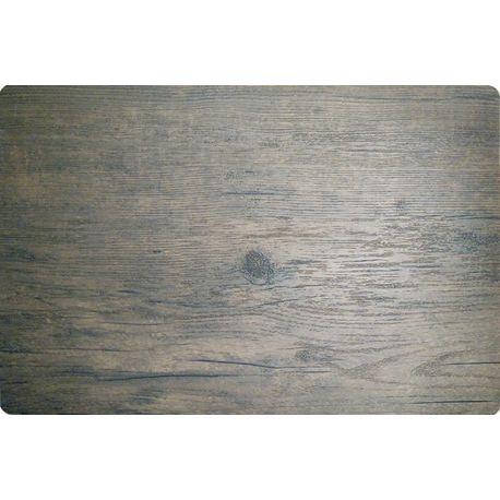 Set de table pvc bois foncé