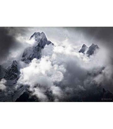Sommets dans nuages
