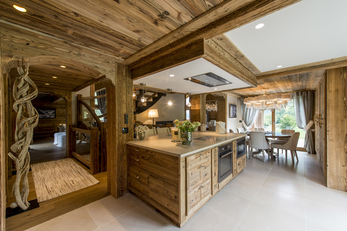 D coration chalet le galetas for Decoration interieur style chalet