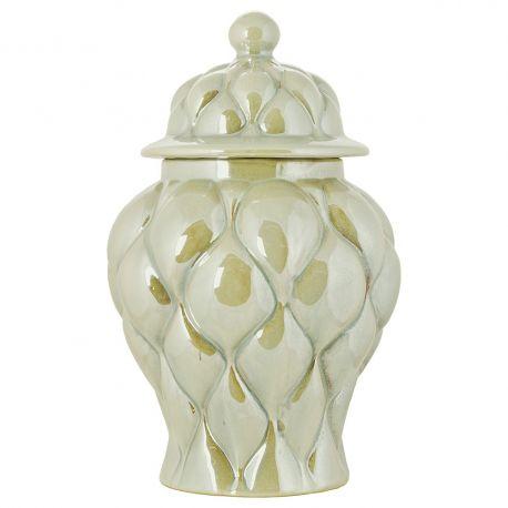 Pot en céramique nacrée