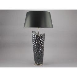 Grande lampe en céramique et chrome H86