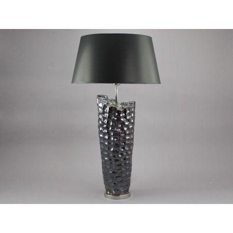 Grande lampe chromée