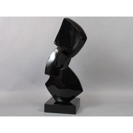 Statuette 3 losanges noirs
