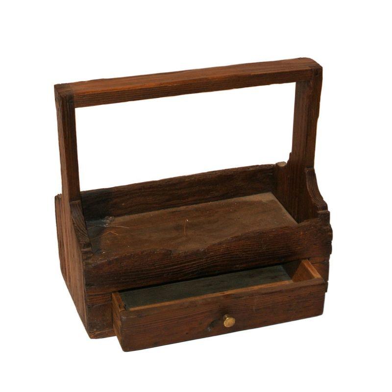 boite cirage en bois antiquit. Black Bedroom Furniture Sets. Home Design Ideas