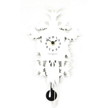 Horloge murale Mignon blanc