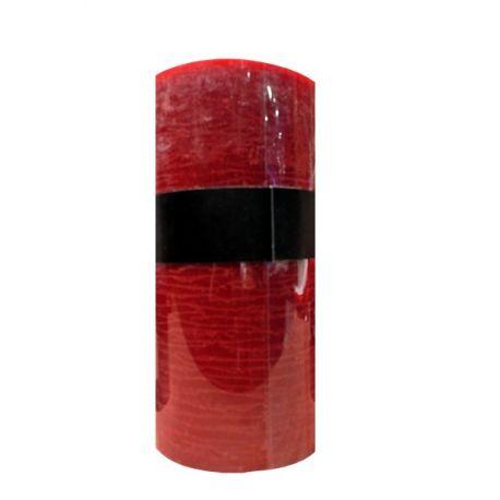 Grande bougie rouge