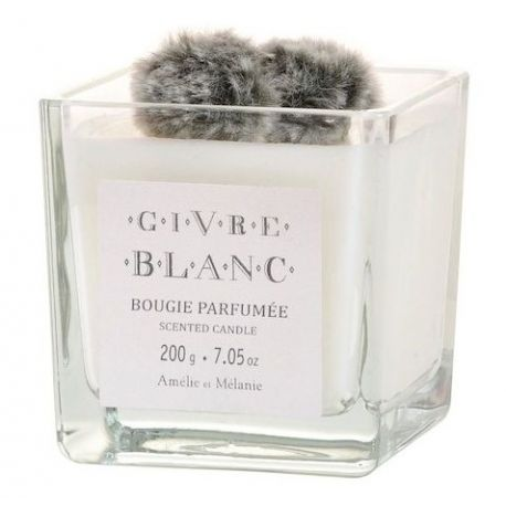 Bougie 200g Givre blanc