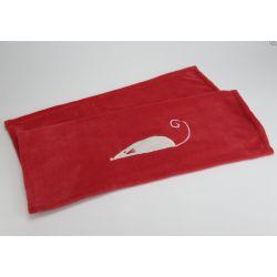 Plaid rouge chat