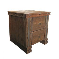 Chevet clous et vieux bois