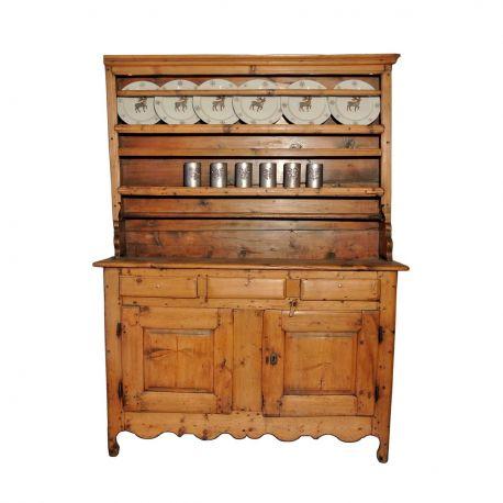 meuble ancien en bois style montagne et chalet le galetas. Black Bedroom Furniture Sets. Home Design Ideas
