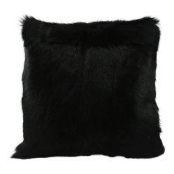Coussin chèvre noire 40x40