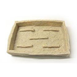 Porte savon pierre beige