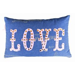 Coussin Jean and Love 30*50