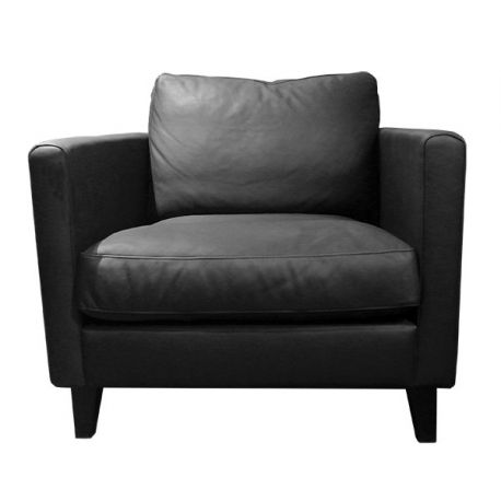 Fauteuil Impulse Aniline black