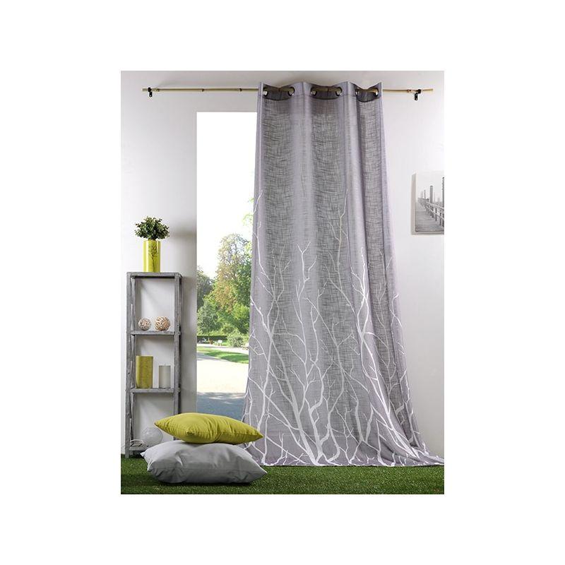 rideau pr t poser voile. Black Bedroom Furniture Sets. Home Design Ideas
