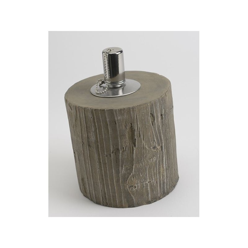lampe huile imitation bois with imitation lampe pipistrello. Black Bedroom Furniture Sets. Home Design Ideas