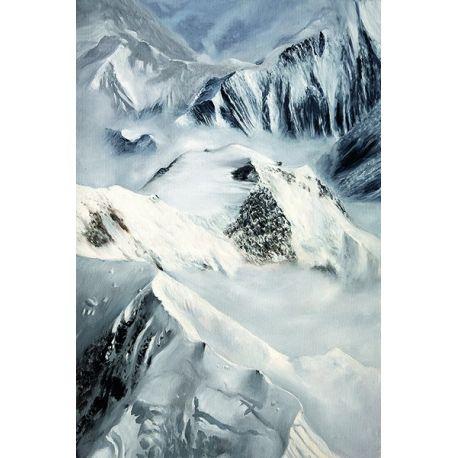 Toile montagnes 75*90