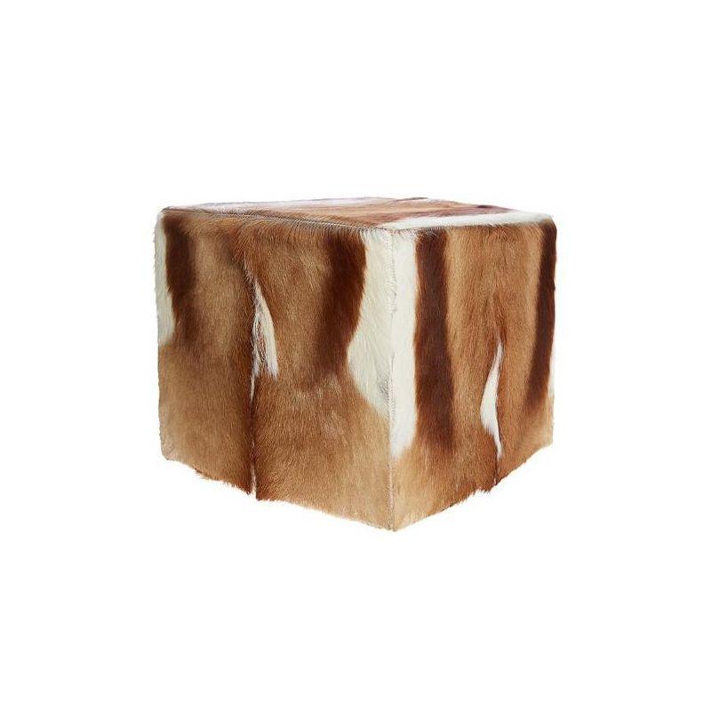 pouf springbock 40*40