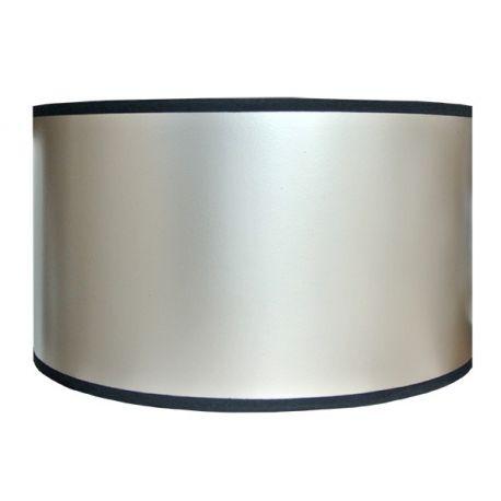 Abat-jour cylindrique argent