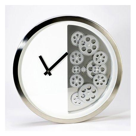 Horloge blanche demi mecanisme