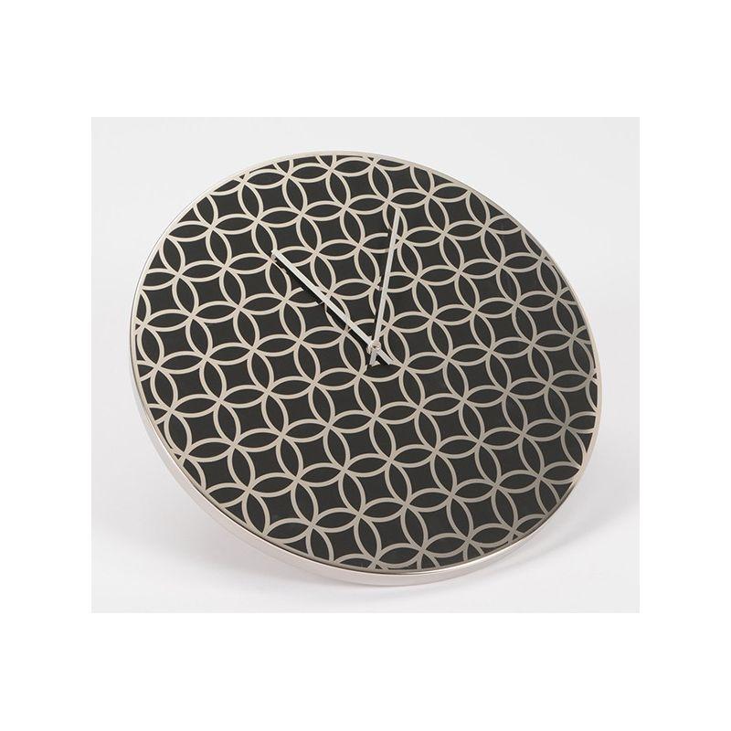 Horloge motif geométrique