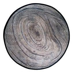 Set de table rond bois