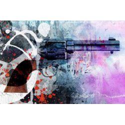 Pistol Blue 70*90