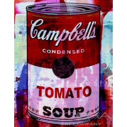 Cambell's soup red can 70x90