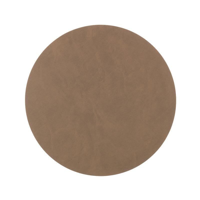 Set de table cuir marron for Set de table marron