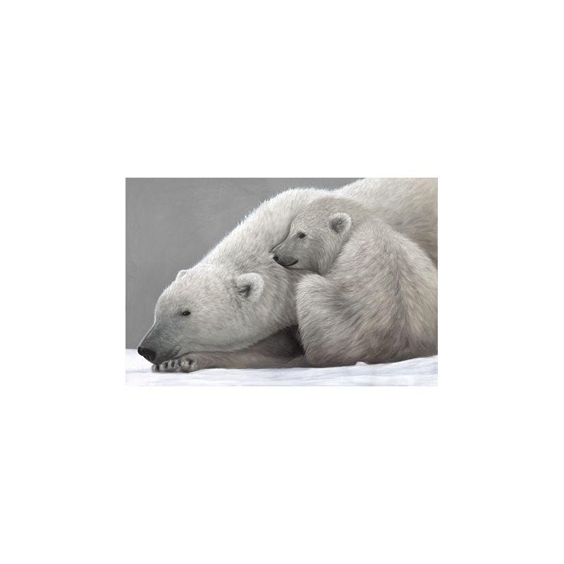 Toile Mère et ourson
