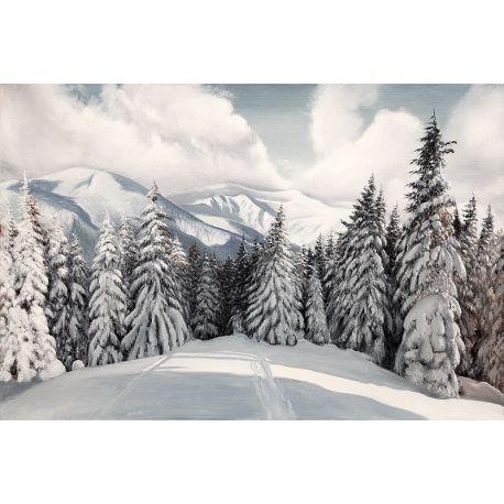 Tableau Sous la neige