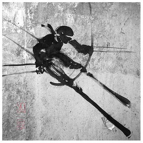 Toile Ski Figure N°2