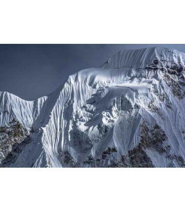 Glacier sur la crête