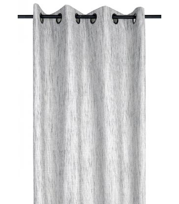 Rideau tarn blanc anthracite 135*250