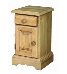 Chevet une porte et un tiroir