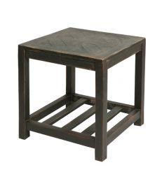 Table basse carrée noire