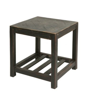 Table Chinon Noir 46x46x46