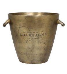 Seau à champagne antique bronze