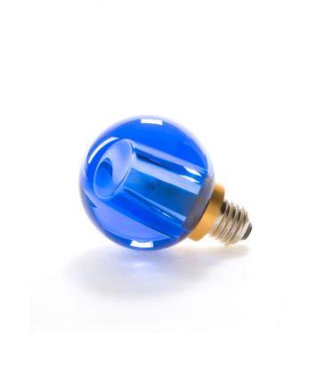 Ampoule Led cristal bleu