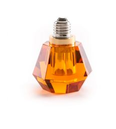 Ampoule Led cristal orange