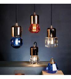 Support de lampe cuivré pour plafond