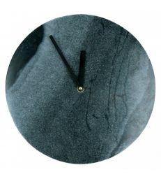 Horloge marbre noir