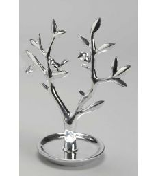 Arbre à bijoux chrome