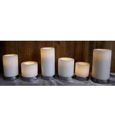 Set de 6 bougies dynamiques