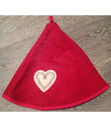 Torchon rouge parapluie