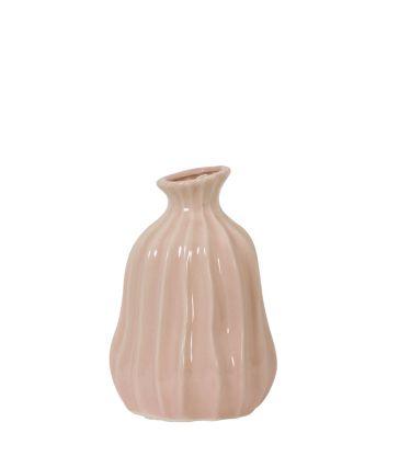 vase déco céramique rose clair