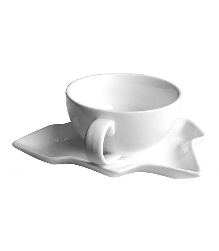 Tasse et sous-tasse Sapin